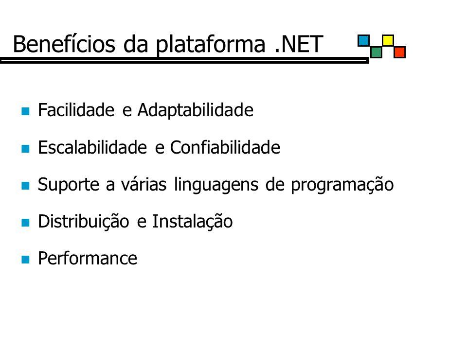 Benefícios da plataforma .NET