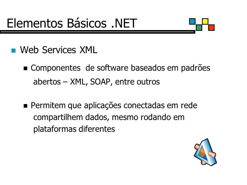 Elementos Básicos .NET Web Services XML