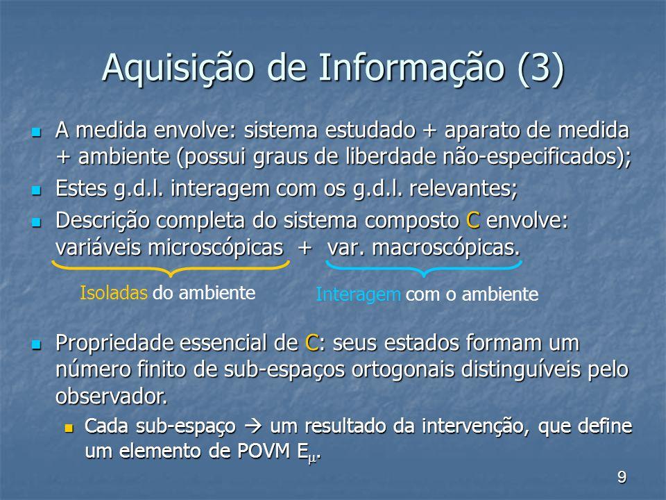 Aquisição de Informação (3)