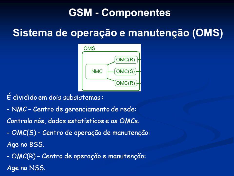 Sistema de operação e manutenção (OMS)