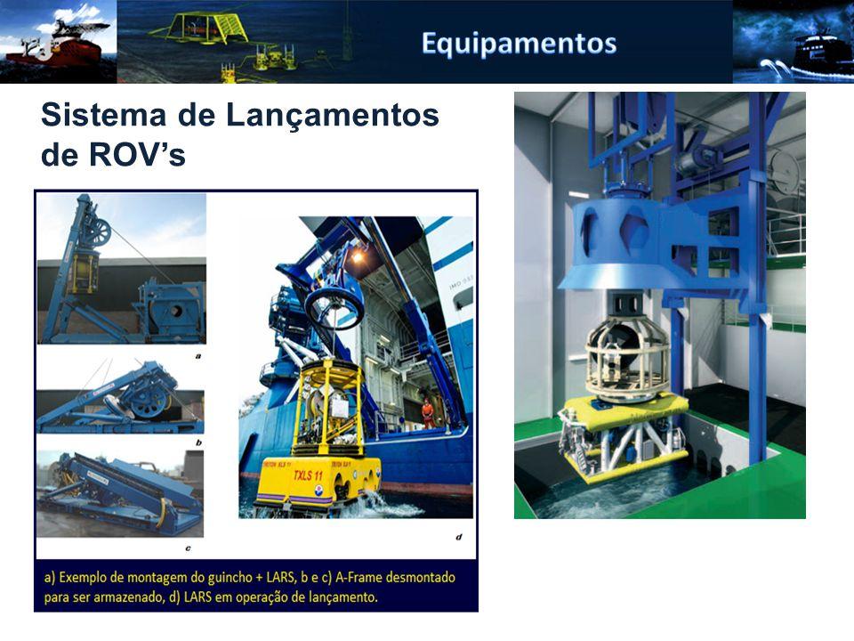 Equipamentos Sistema de Lançamentos de ROV's