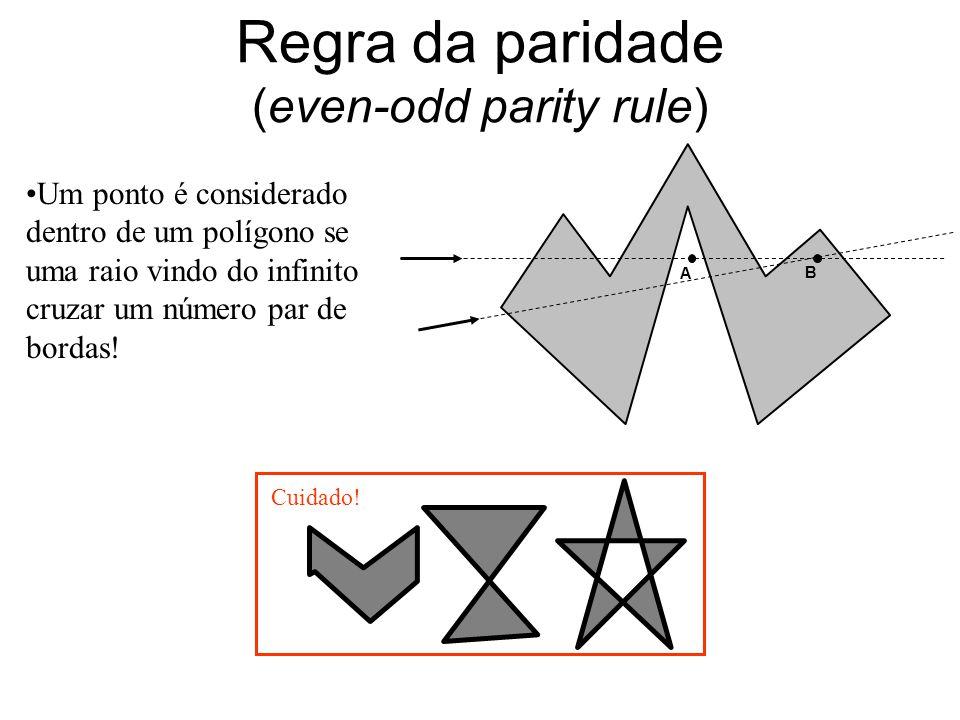 Regra da paridade (even-odd parity rule)