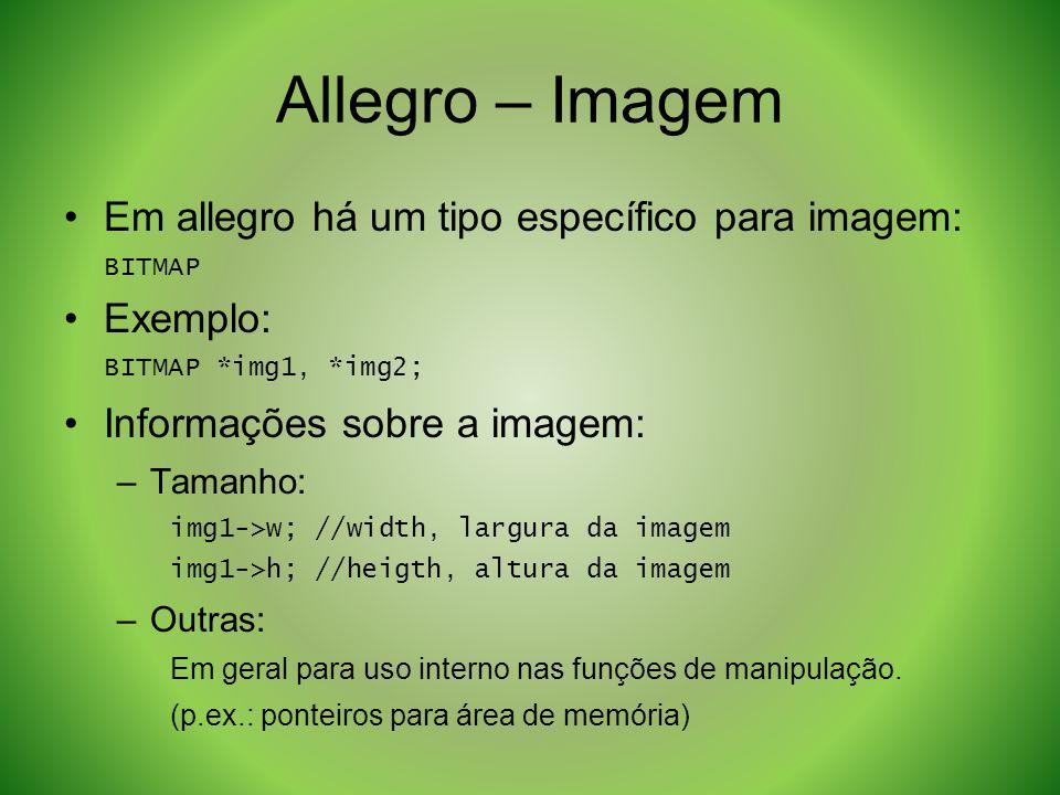 Allegro – Imagem Em allegro há um tipo específico para imagem: