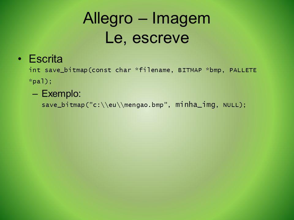 Allegro – Imagem Le, escreve
