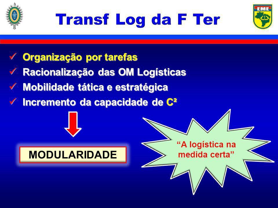 A logística na medida certa