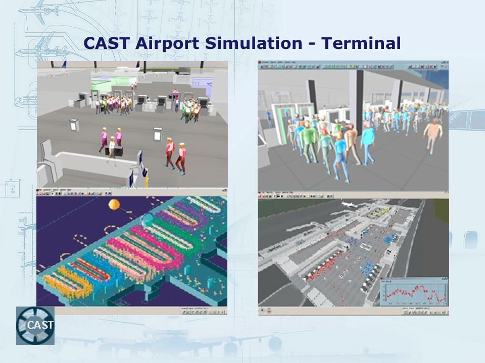 CAST Airport Simulation - Terminal