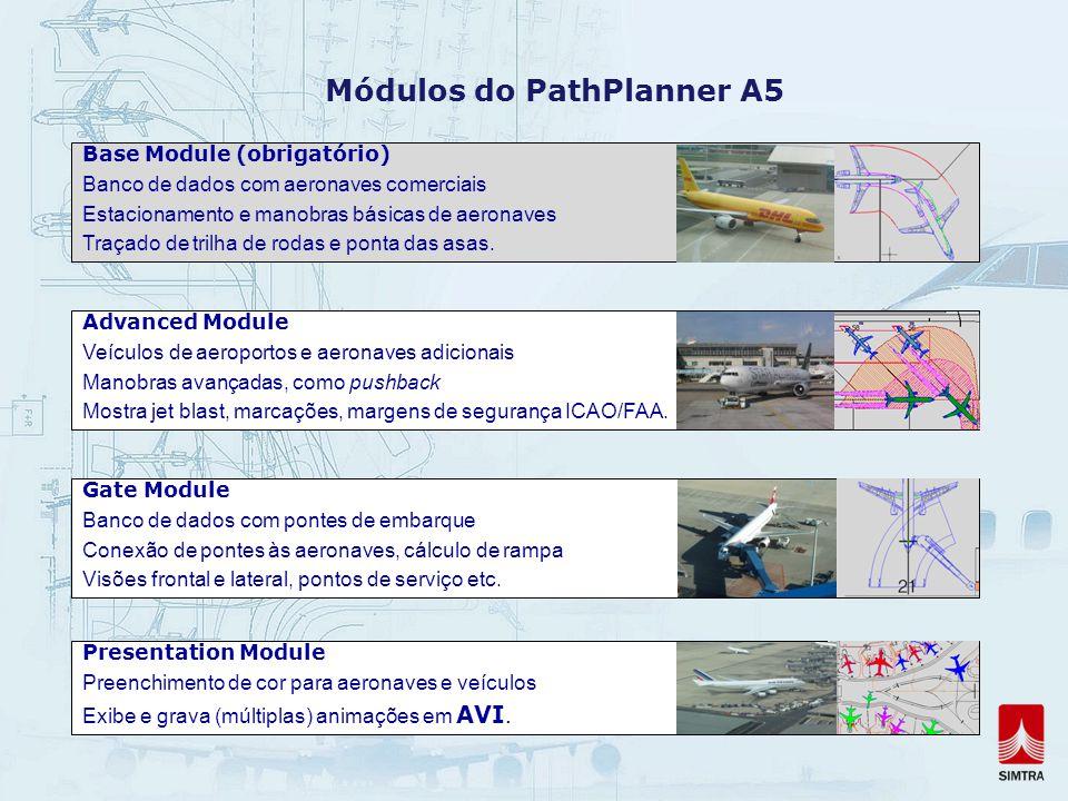 Módulos do PathPlanner A5