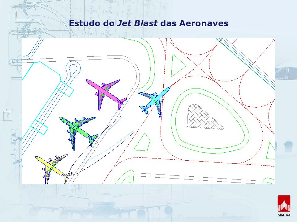 Estudo do Jet Blast das Aeronaves
