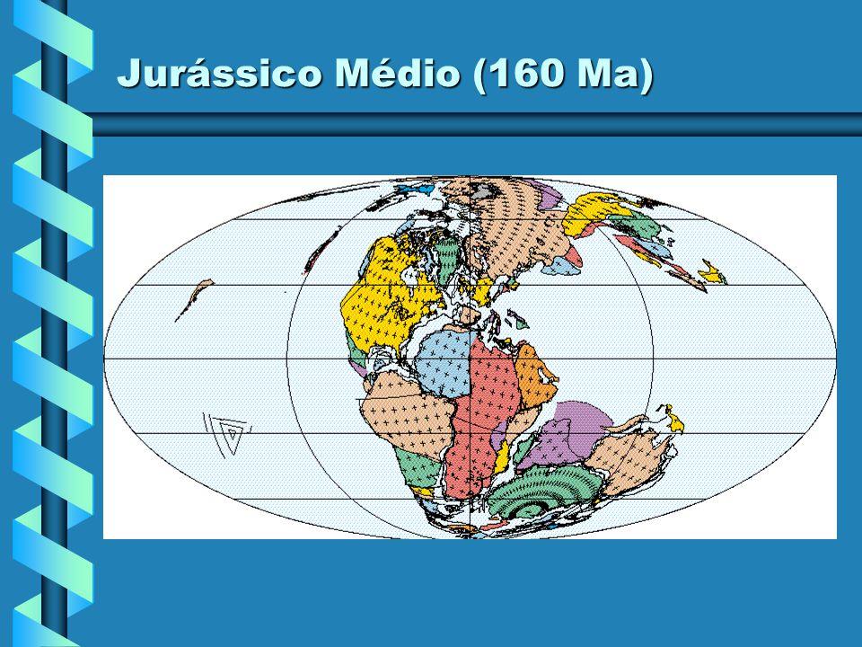 Jurássico Médio (160 Ma)
