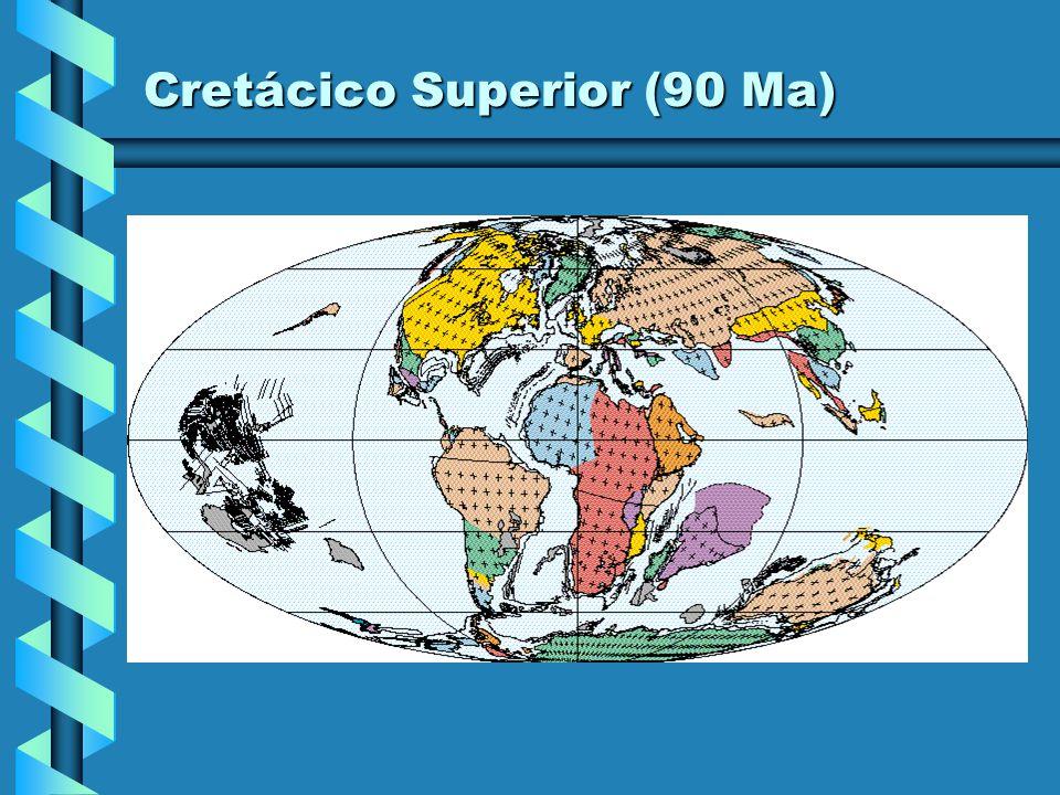 Cretácico Superior (90 Ma)