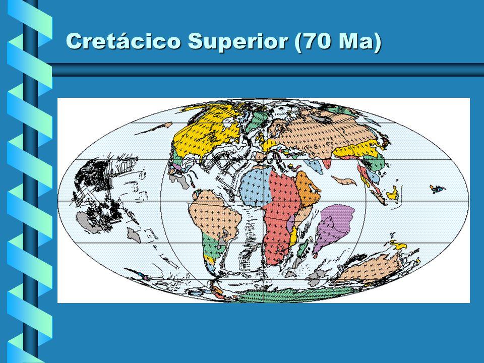 Cretácico Superior (70 Ma)