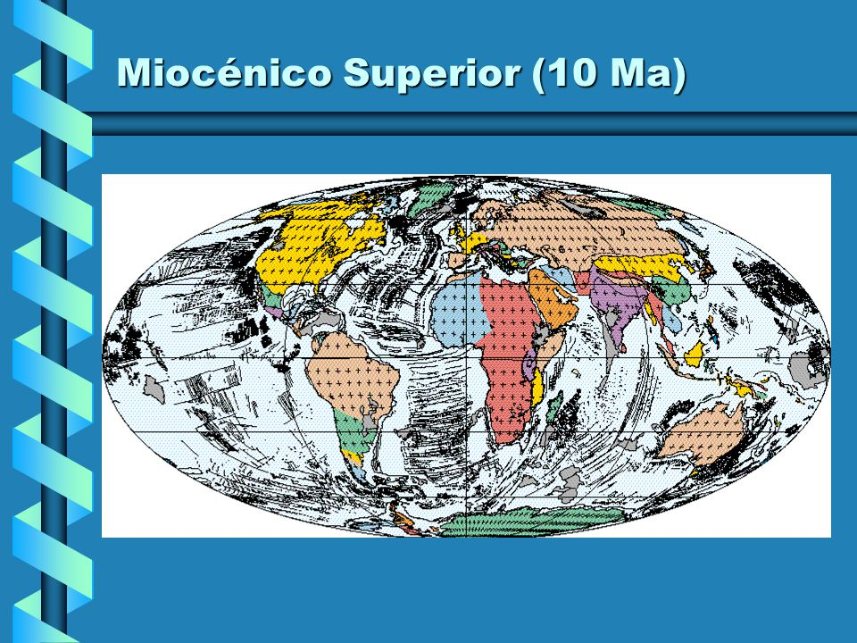 Miocénico Superior (10 Ma)