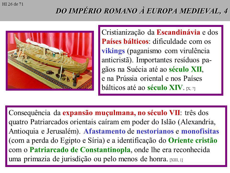 DO IMPÉRIO ROMANO À EUROPA MEDIEVAL, 4