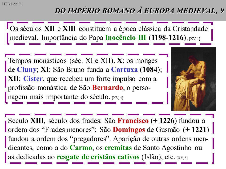 DO IMPÉRIO ROMANO À EUROPA MEDIEVAL, 9