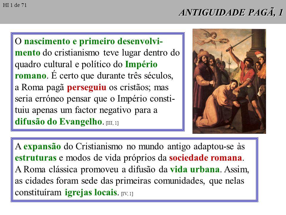 A expansão do Cristianismo no mundo antigo adaptou-se às