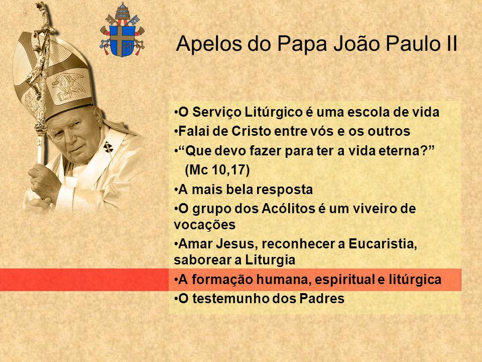 Apelos do Papa João Paulo II