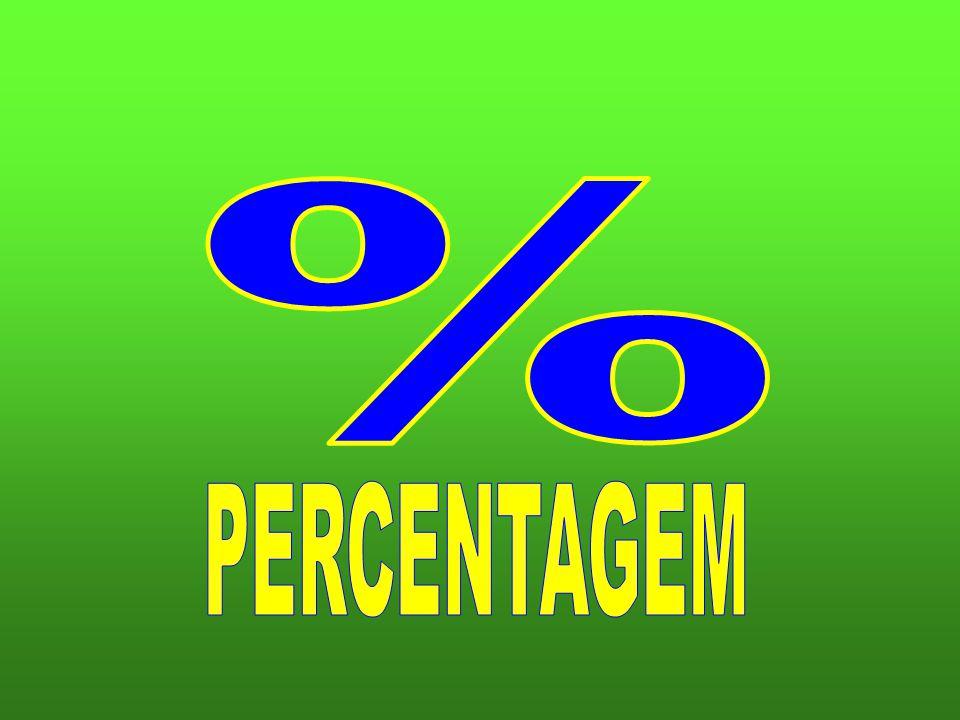 % PERCENTAGEM