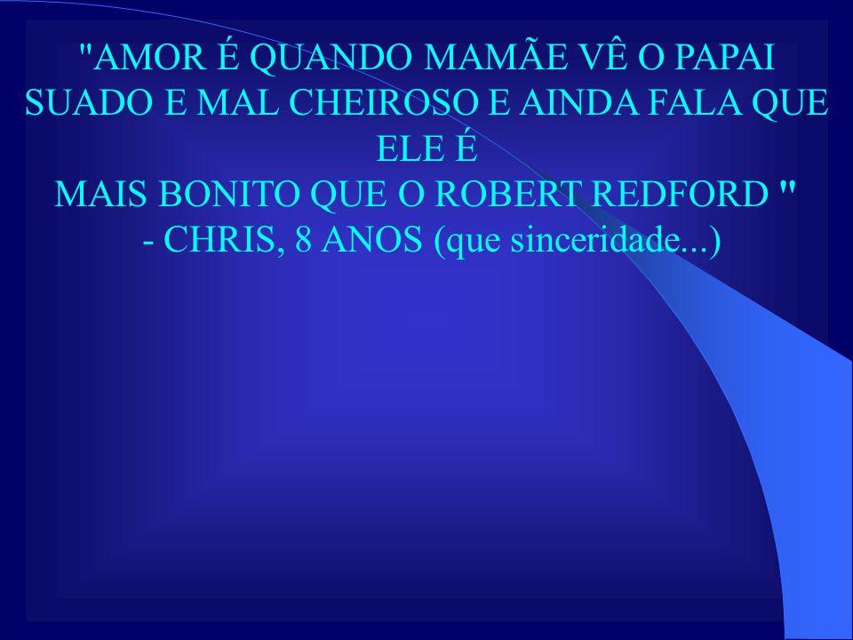 MAIS BONITO QUE O ROBERT REDFORD