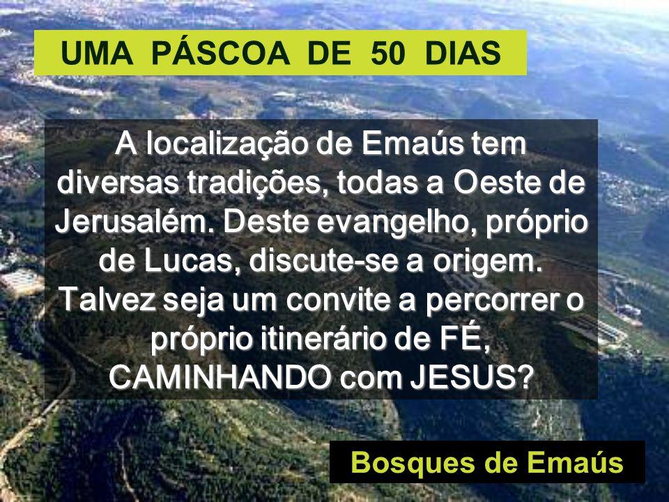 UMA PÁSCOA DE 50 DIAS