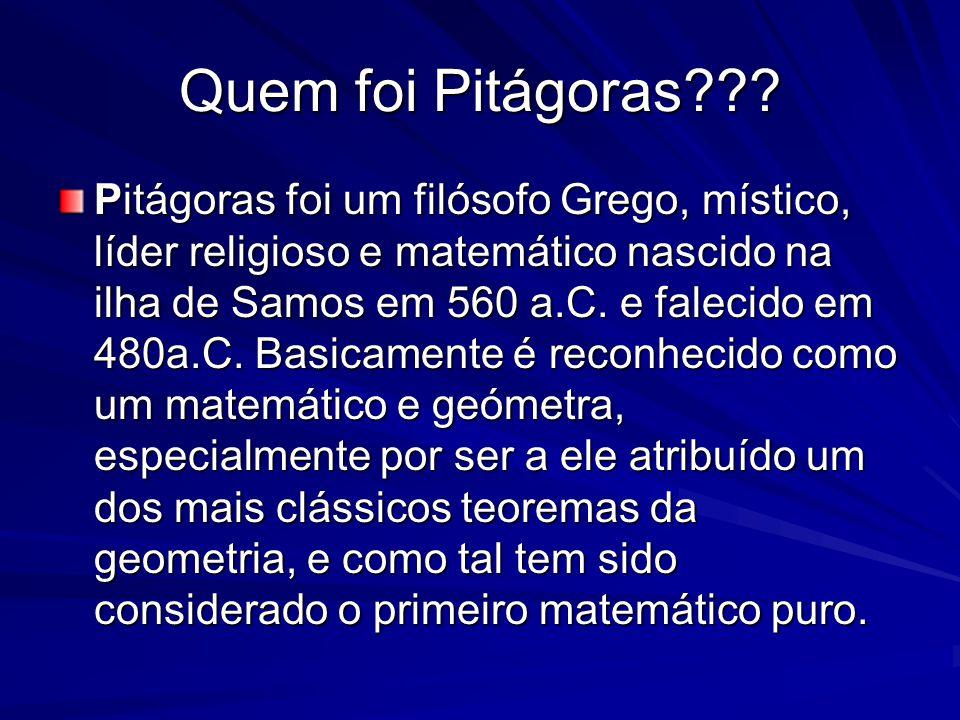Quem foi Pitágoras