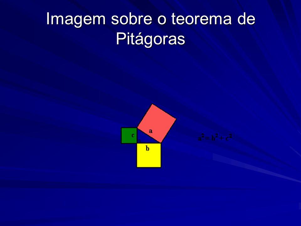 Imagem sobre o teorema de Pitágoras