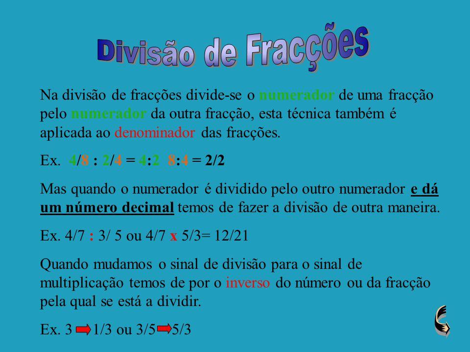 Divisão de Fracções
