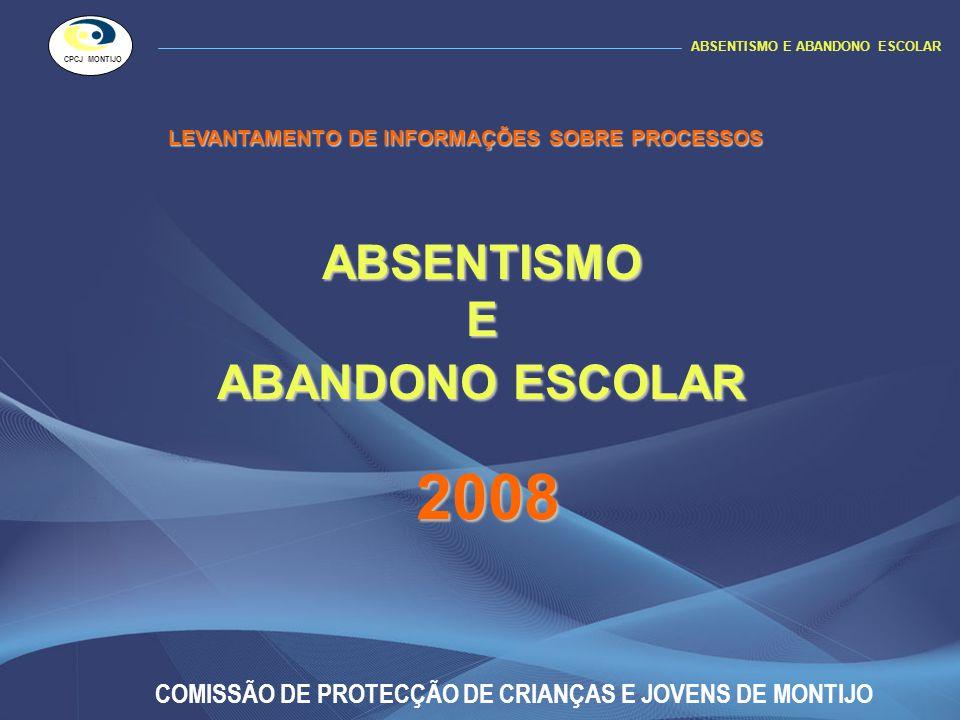 ABSENTISMO E ABANDONO ESCOLAR