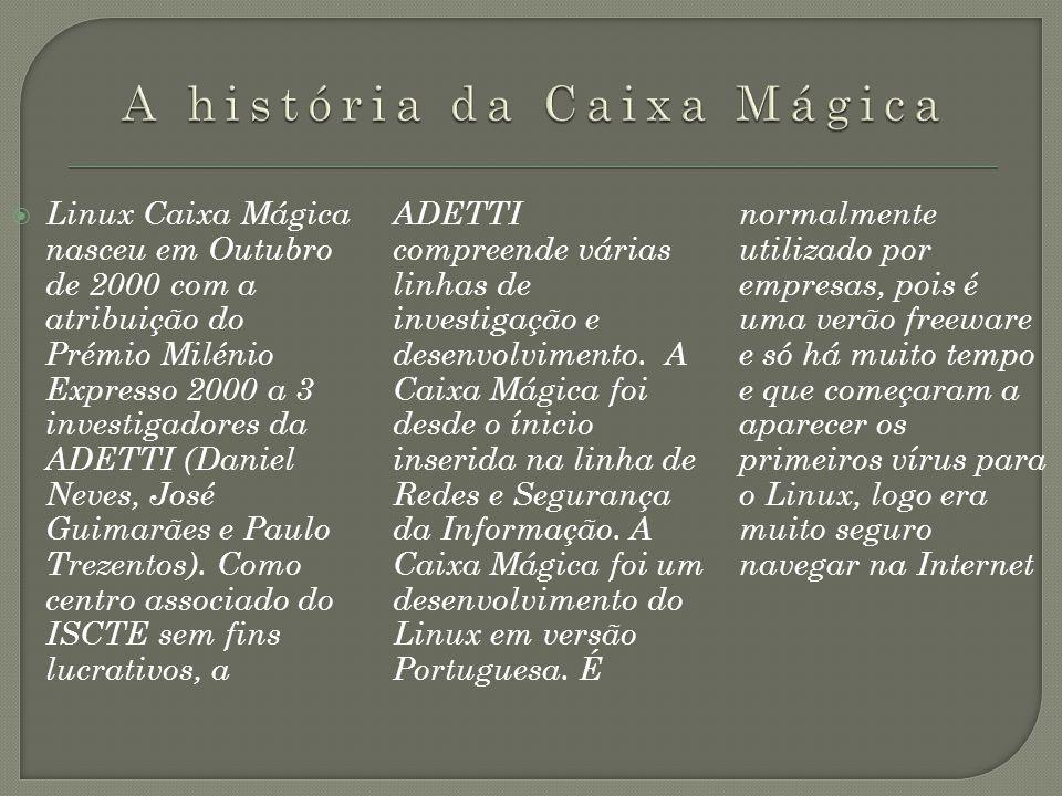 A história da Caixa Mágica