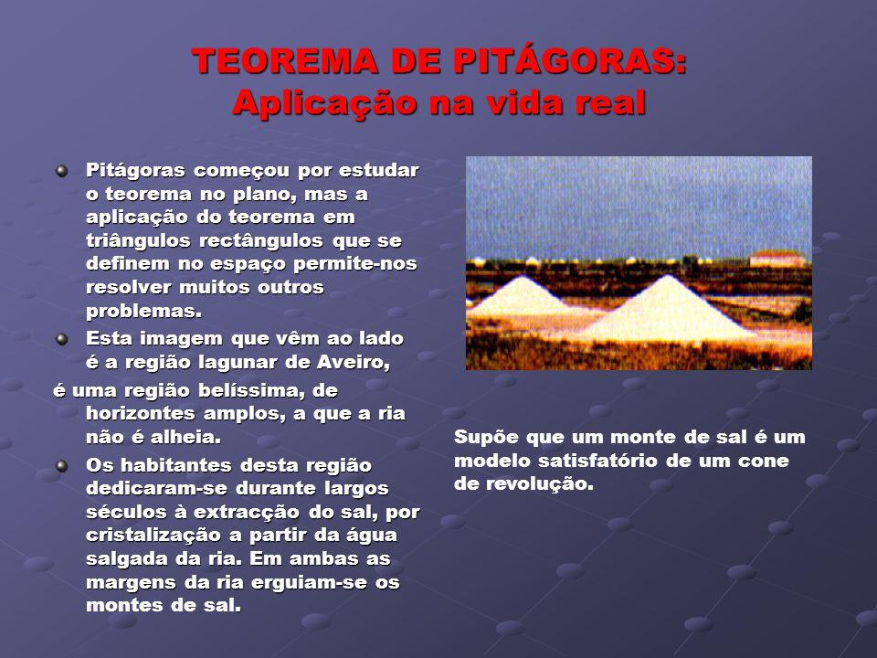 TEOREMA DE PITÁGORAS: Aplicação na vida real