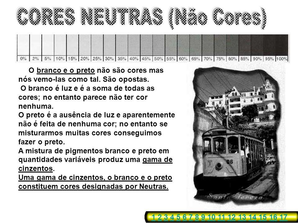 CORES NEUTRAS (Não Cores)