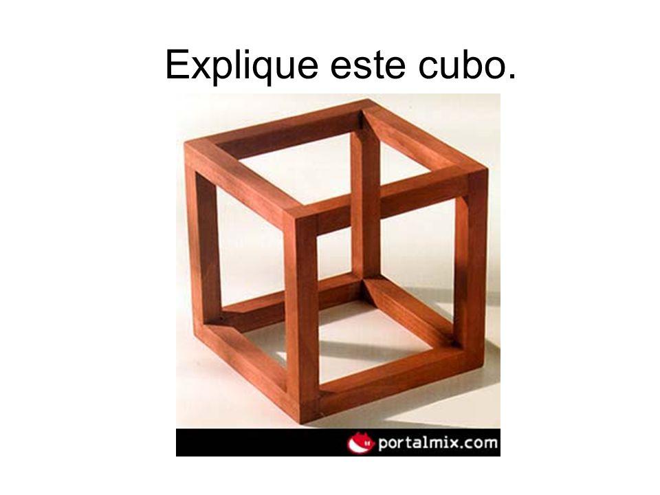 Explique este cubo.