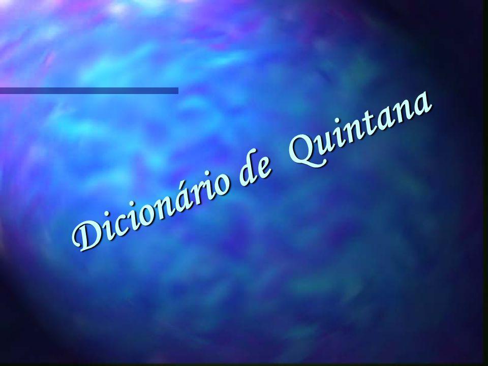 Dicionário de Quintana