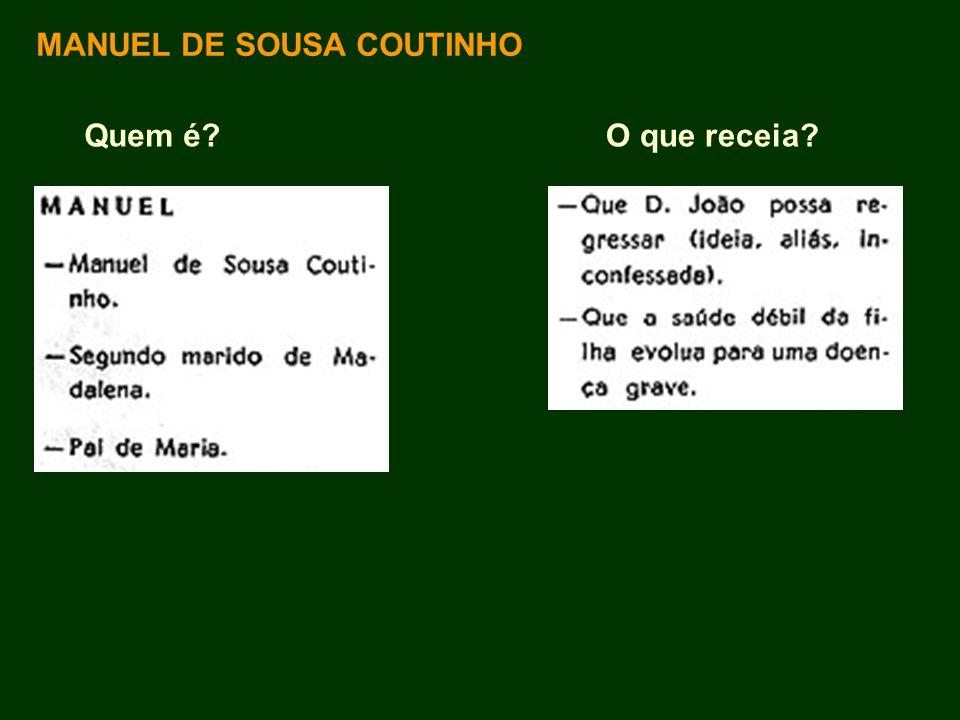 MANUEL DE SOUSA COUTINHO