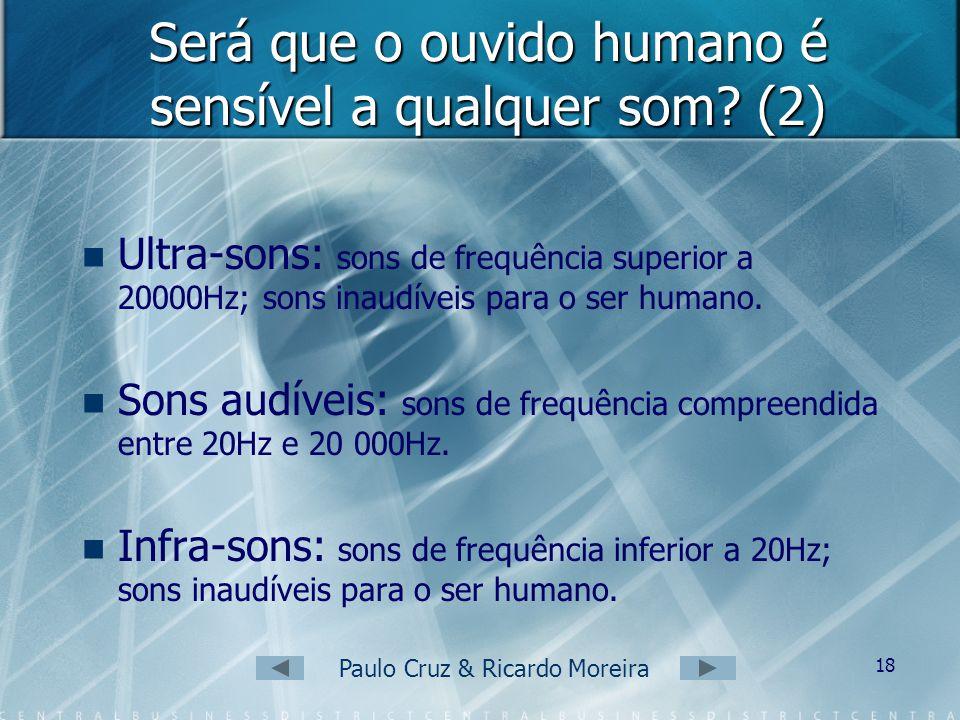 Será que o ouvido humano é sensível a qualquer som (2)