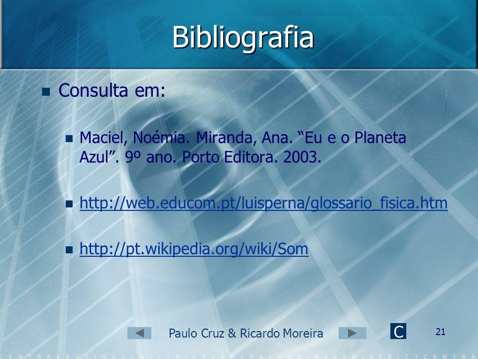 Paulo Cruz & Ricardo Moreira