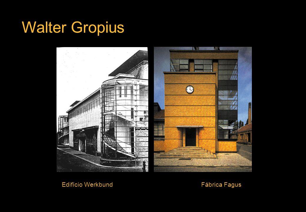 Walter Gropius Edifício Werkbund Fábrica Fagus