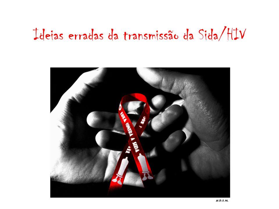 Ideias erradas da transmissão da Sida/HIV