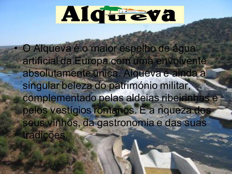 O Alqueva é o maior espelho de água artificial da Europa com uma envolvente absolutamente única.