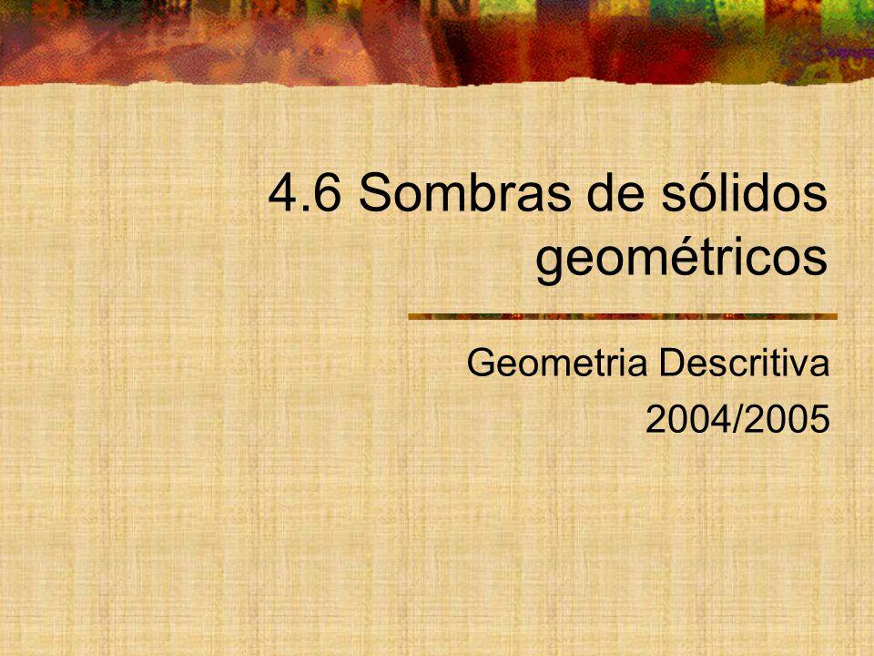 4.6 Sombras de sólidos geométricos