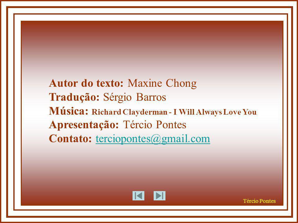 Autor do texto: Maxine Chong Tradução: Sérgio Barros