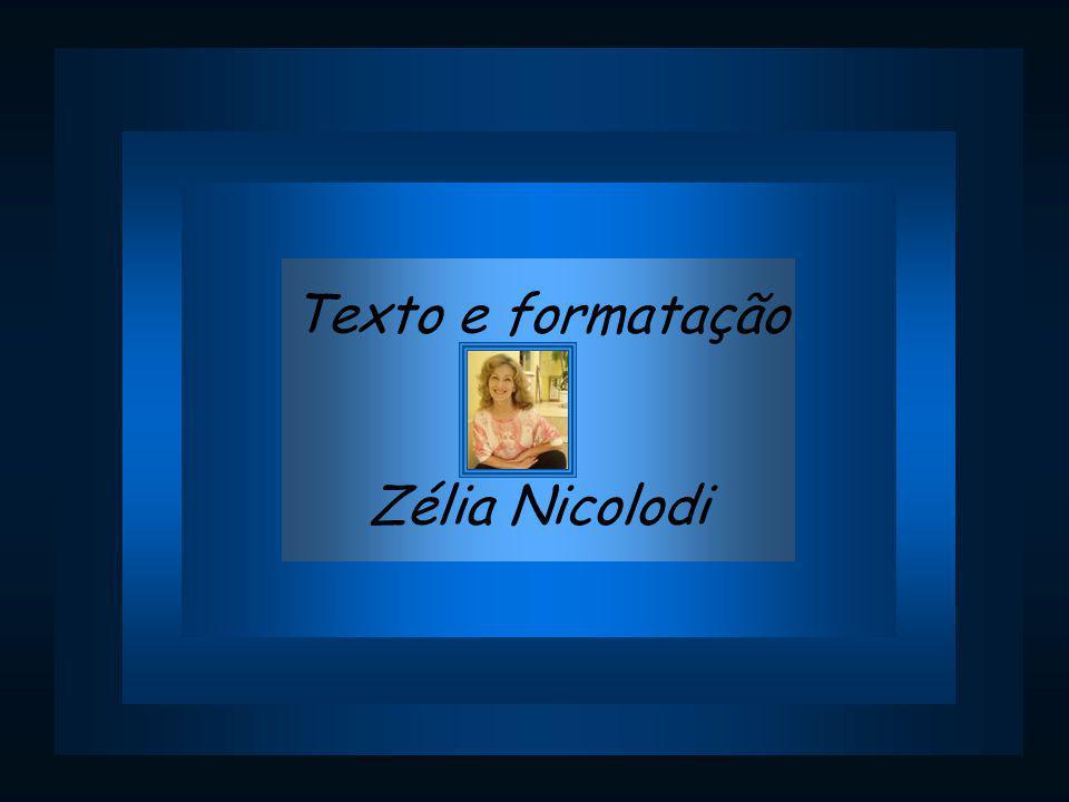 Texto e formatação Zélia Nicolodi