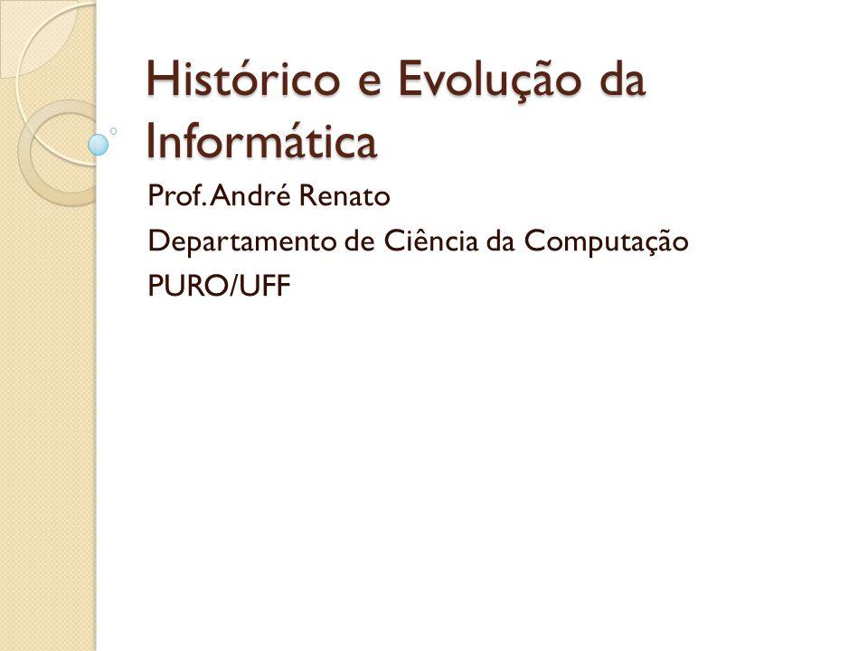 Histórico e Evolução da Informática