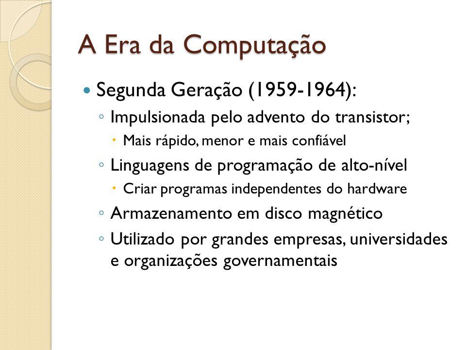 A Era da Computação Segunda Geração (1959-1964):