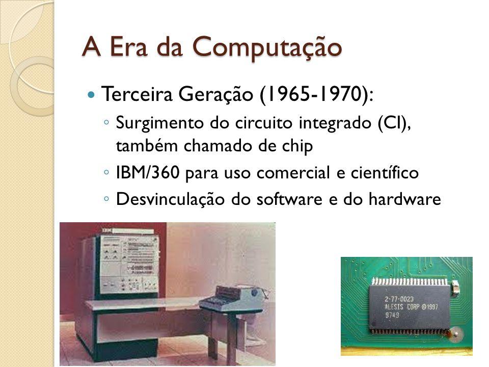 A Era da Computação Terceira Geração (1965-1970):