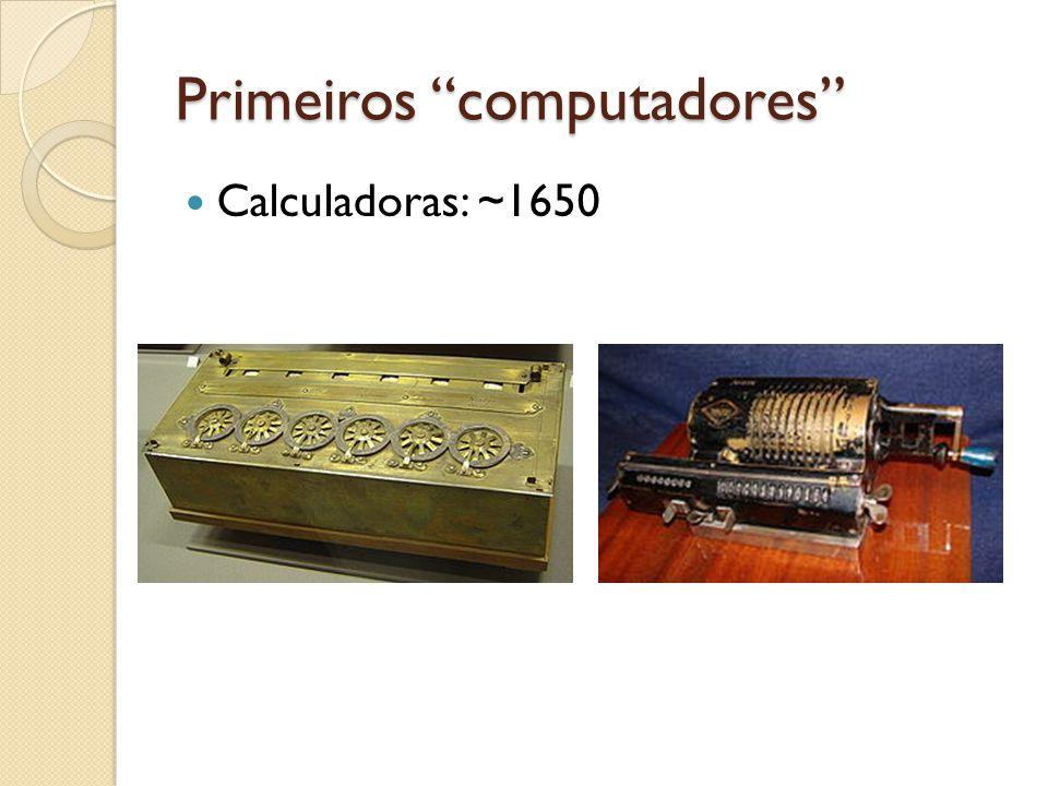 Primeiros computadores