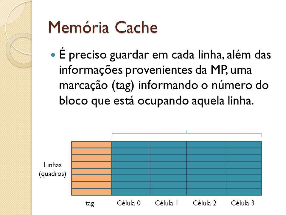 Memória Cache