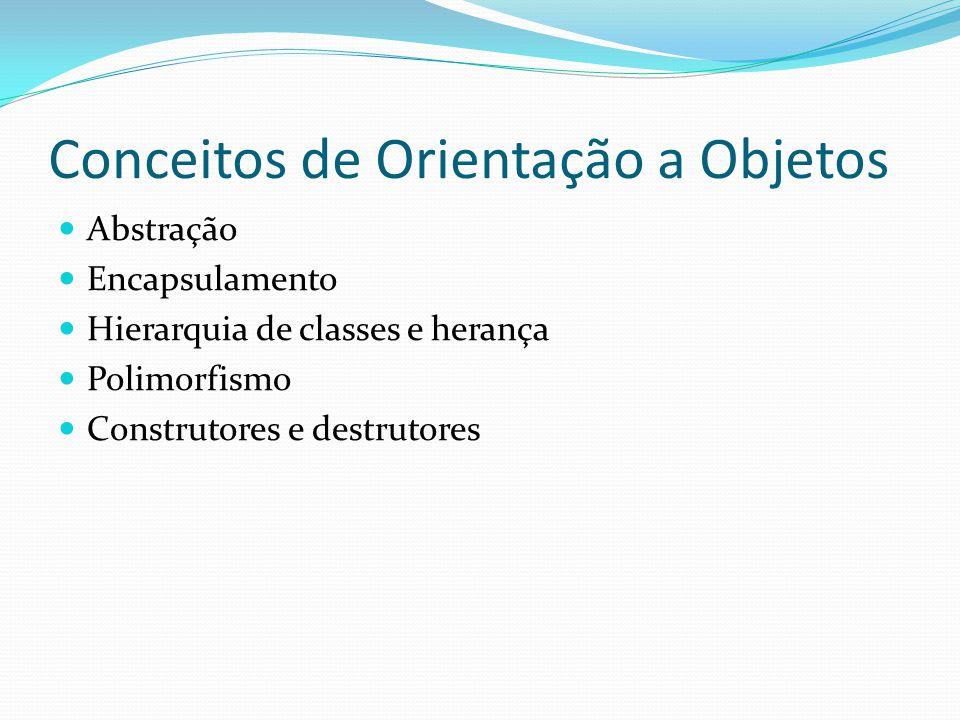 Conceitos de Orientação a Objetos