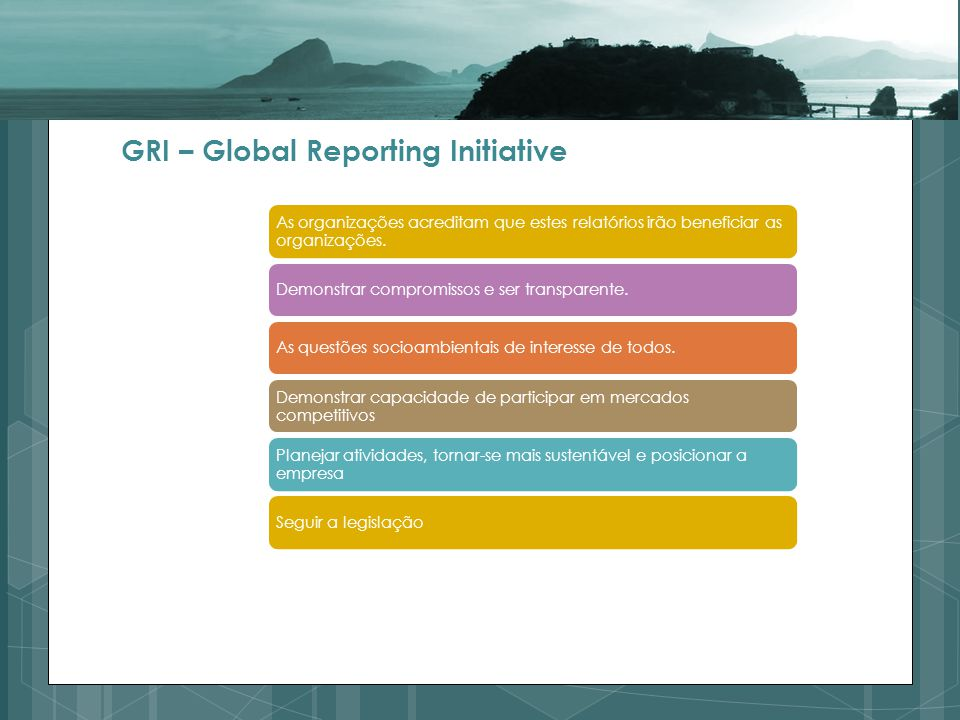 GRI – Global Reporting Initiative