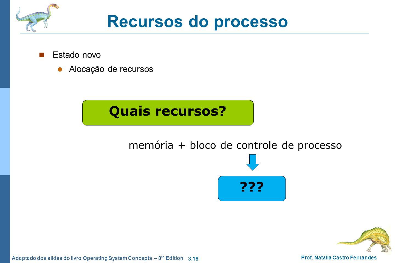 Recursos do processo Quais recursos