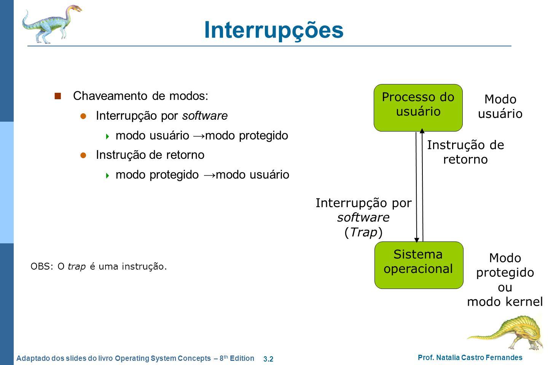 Interrupção por software